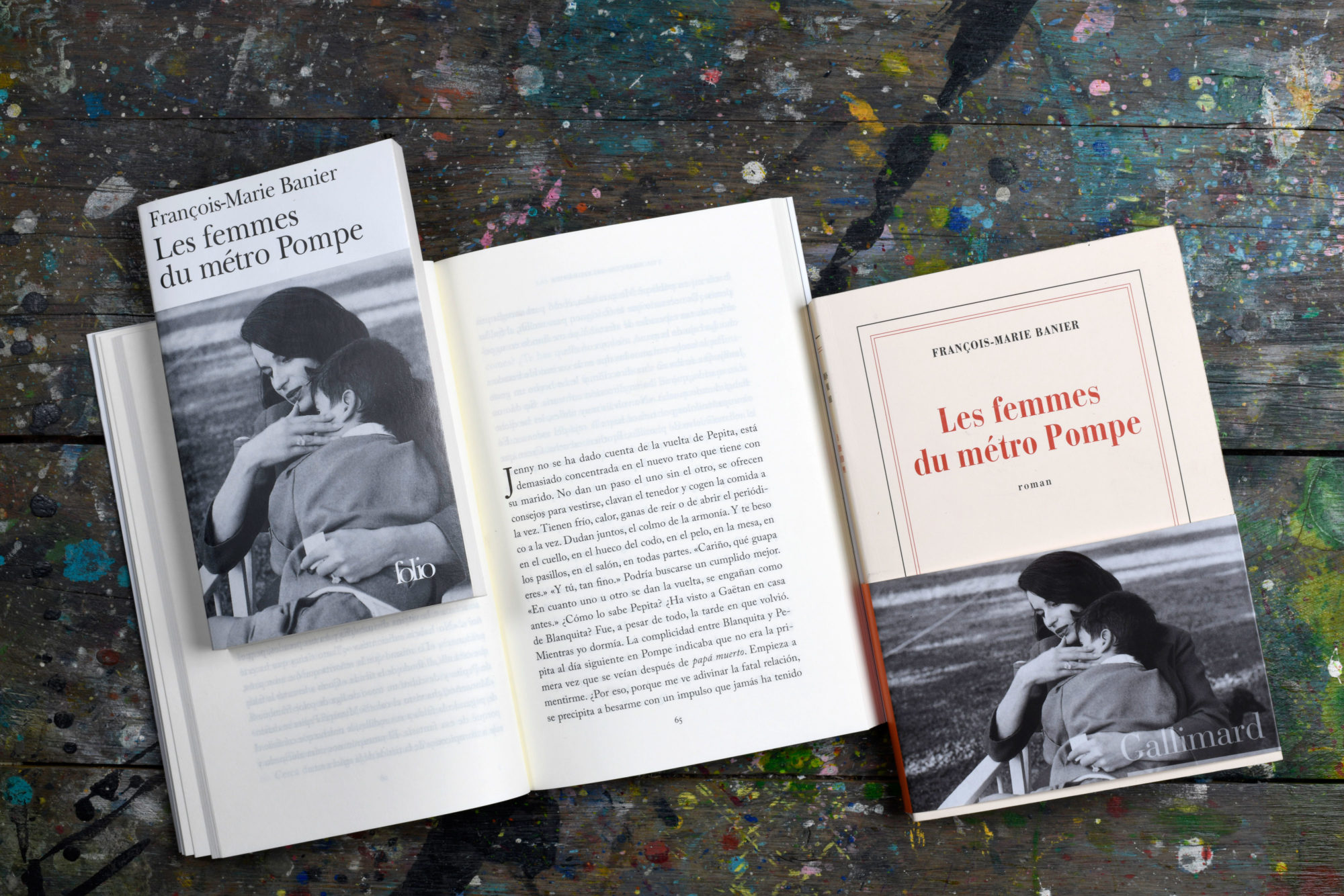 Les femmes du métro Pompe - François-Marie Banier