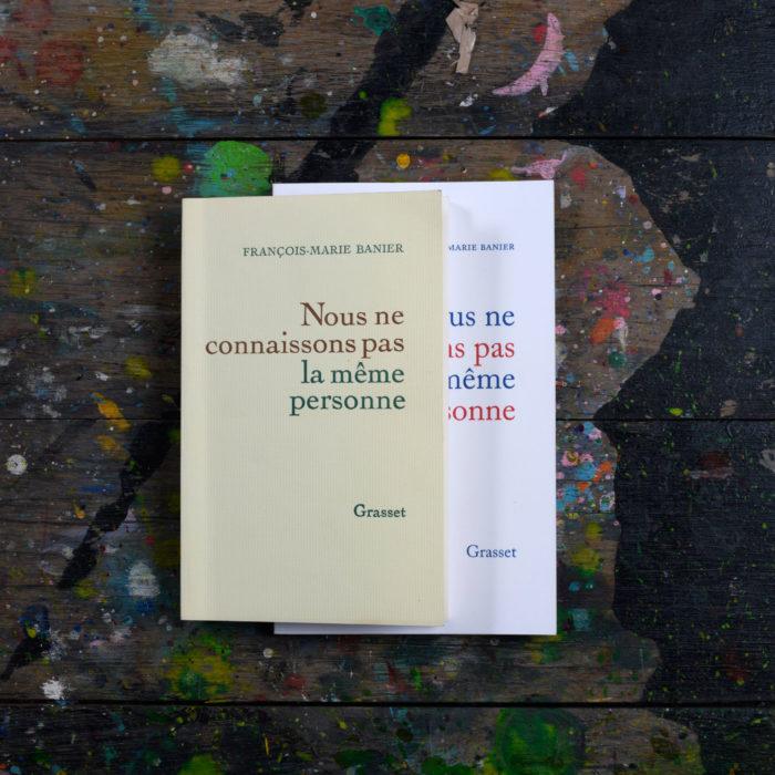 Nous ne connaissons pas la même personne - François-Marie Banier