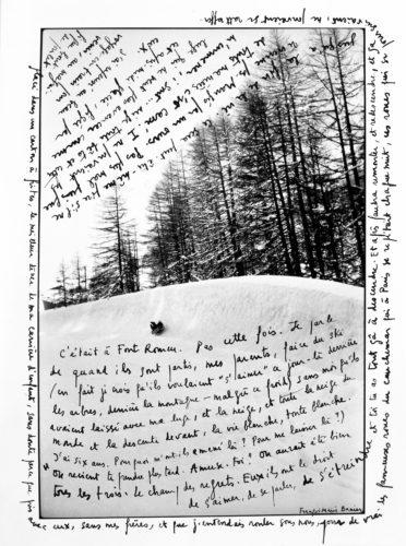 Written photography - François-Marie Banier