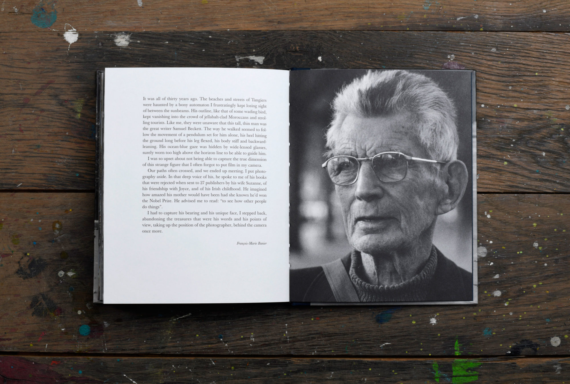 Beckett - François-Marie Banier