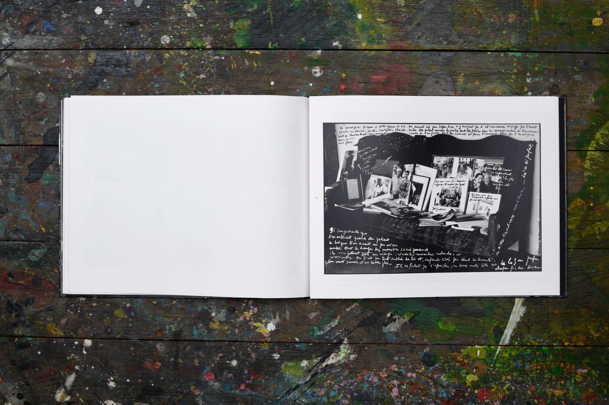 Written photos - François-Marie Banier