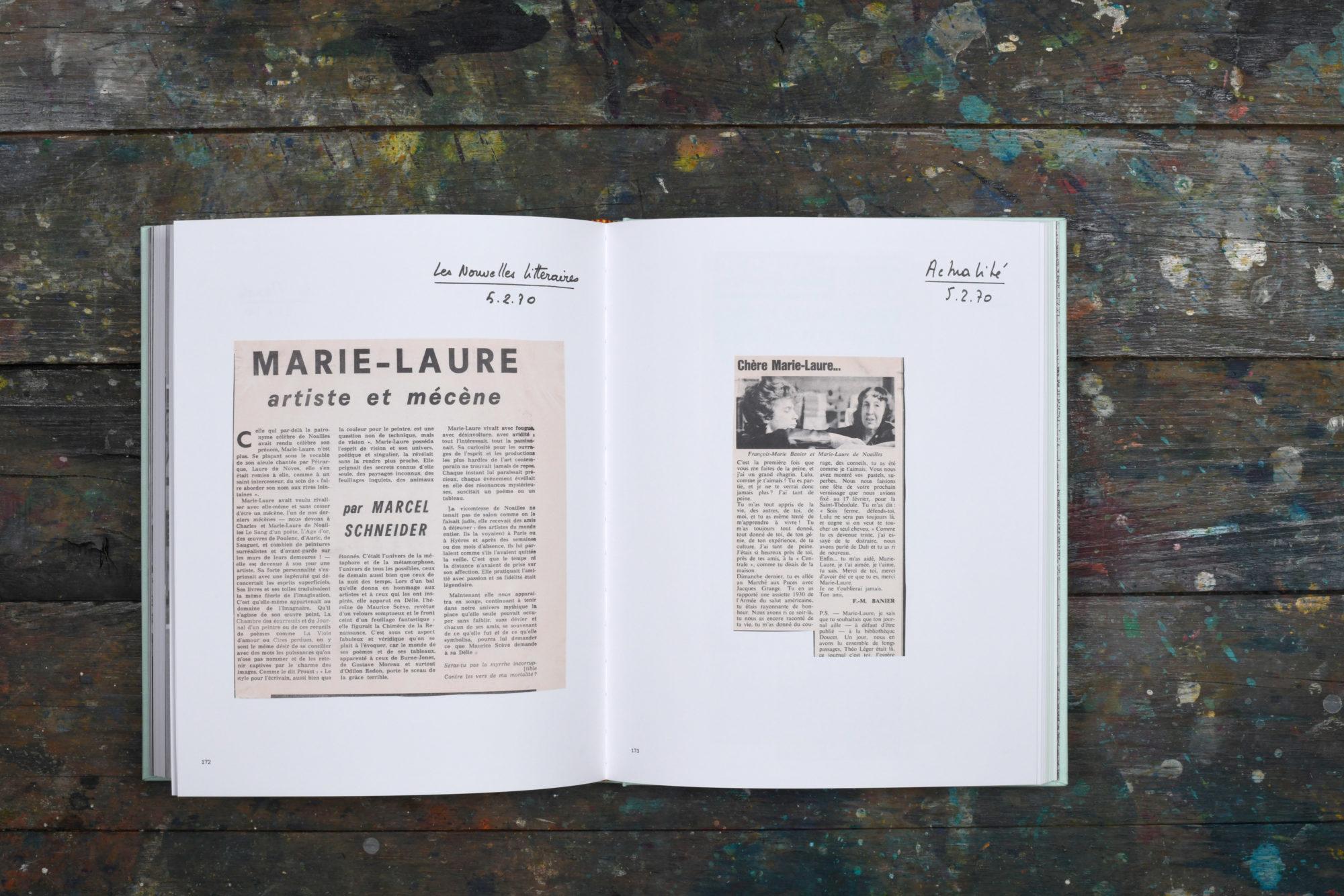 François-Marie Banier, Marie-Laure de Noailles 1969-1970 - François-Marie Banier