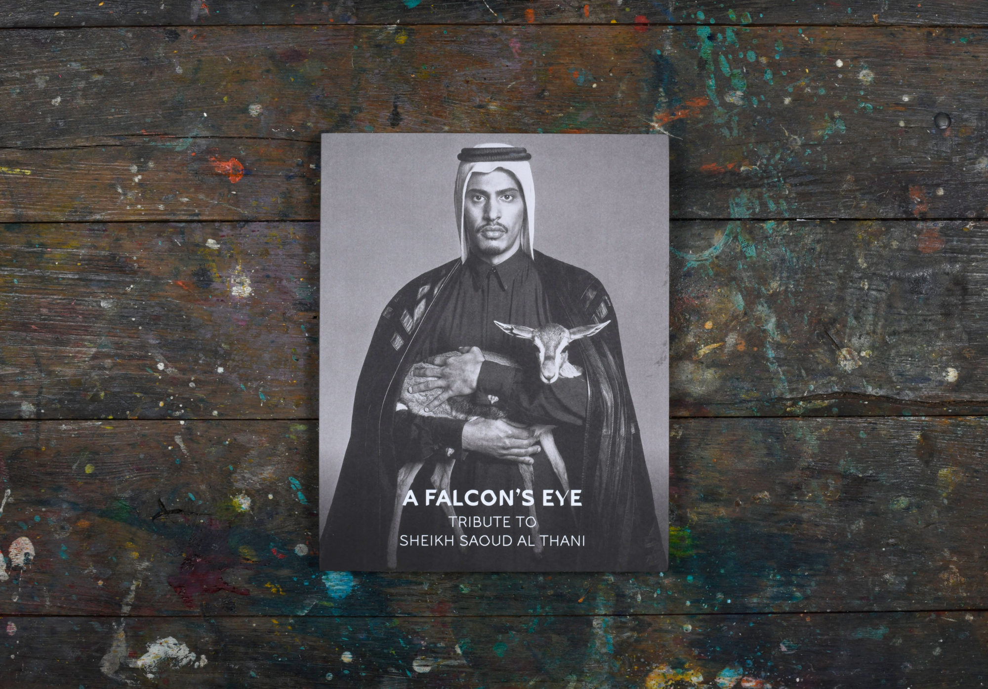A Falcon's eye Tribute to Sheikh Saoud Al Thani - François-Marie Banier